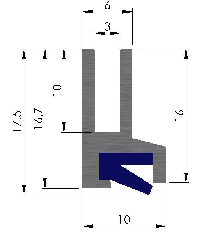 Plan racleur de glissières AL12
