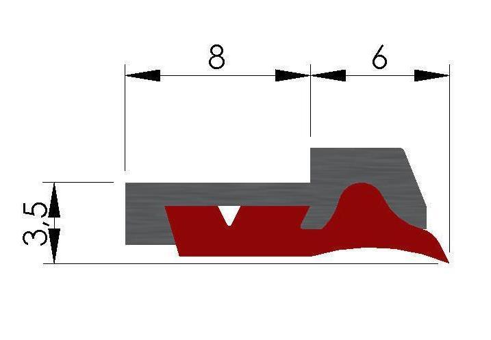 Plan racleur de glissières AL2
