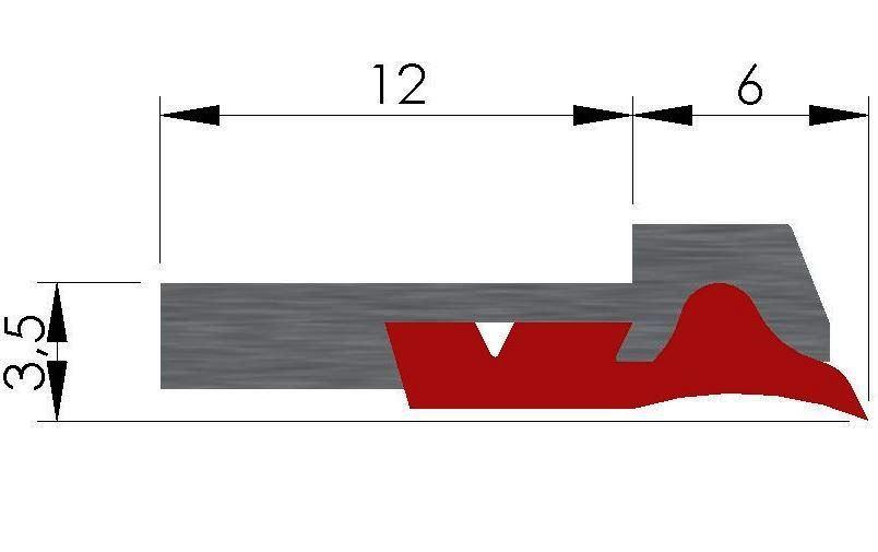 Plan racleur de glissières AL3