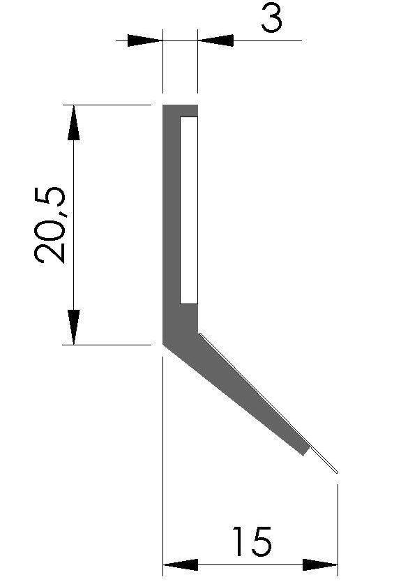 Plan racleur de glissieres ALFBAP