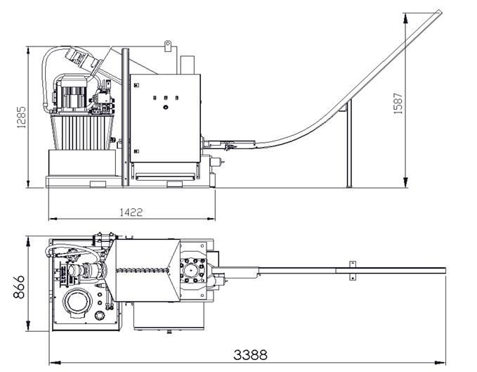 compacteuse de copeaux PM2