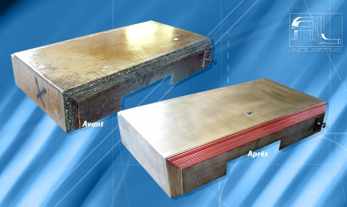 réparation protecteur de glissières