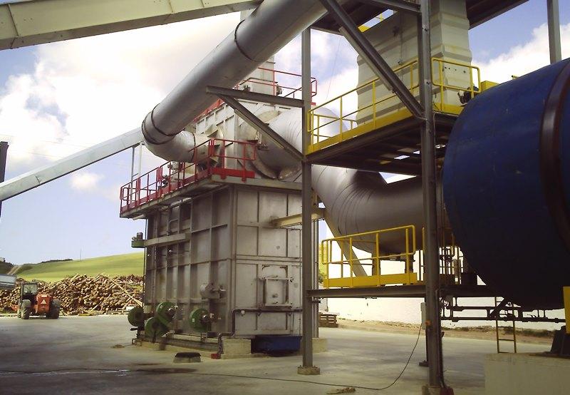 Convoyeur de cendres four biomasse