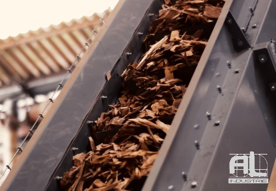 Convoyeur chaudière biomasse