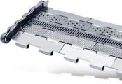Tapis métallique convoyeur pas 25.4 mm - Tapis métallique convoyeur - Convoyeurs à copeaux