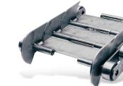 Tapis métallique convoyeur pas 100 mm - Tapis métallique convoyeur - Convoyeurs à copeaux