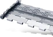 Tapis métallique convoyeur pas 25.4 mm