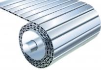 Tapis articulé aluminium - Protecteurs telescopiques