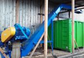 Convoyeur broyeur bois - solution Filière bois