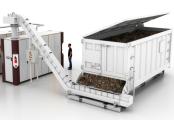 Le convoyeur à tapis bioénergétique - solution Recyclage