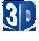 Logo 3D Wave