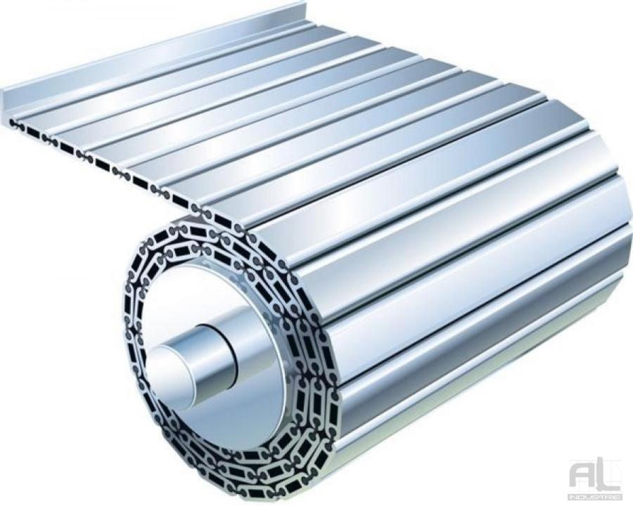 Tapis articulé aluminium - Tapis articulé aluminium