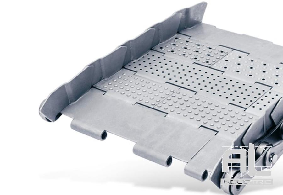 tapis-de-convoyeur-T63 - Tapis métallique convoyeur