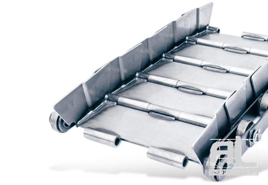 tapis-de-convoyeur-T152.4 - Tapis métallique convoyeur
