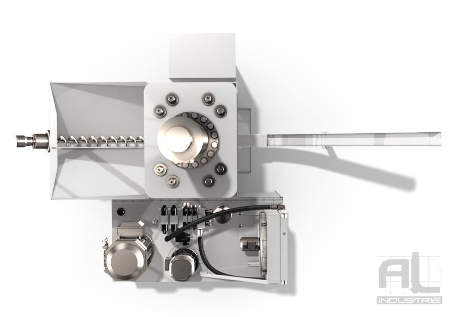Compacteuse à copeaux PM3 5 - Briqueteuse PM3 H - Compacteuse à copeaux