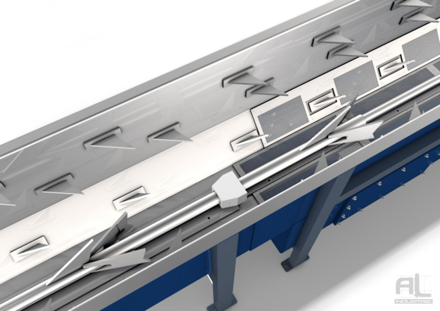 "Convoyeur harpon Al Industrie - Harpon ""module standard"" - Convoyeurs à harpons"
