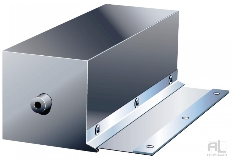 Enrouleur toile inox - Enrouleur avec caisson - Protecteur enrouleur