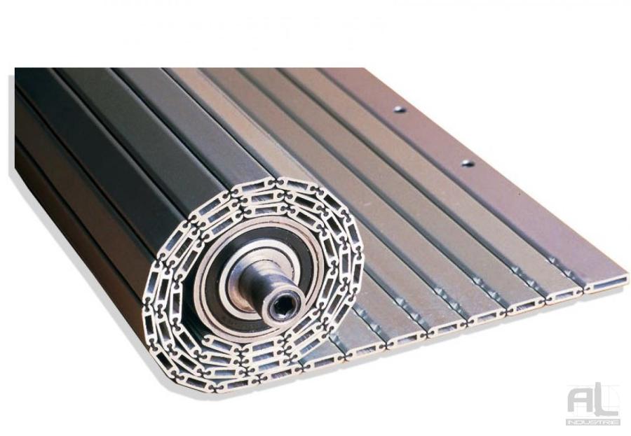 Enrouleur tablier aluminium - Enrouleur sans caisson - Protecteur enrouleur