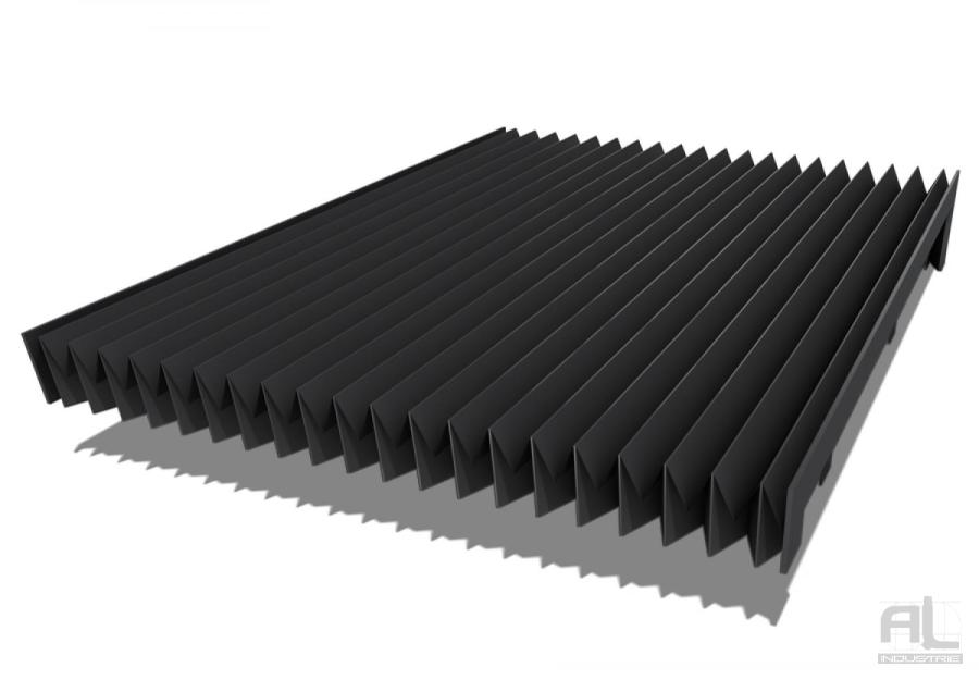 soufflets de protection soufflet toile pliss al industrie. Black Bedroom Furniture Sets. Home Design Ideas