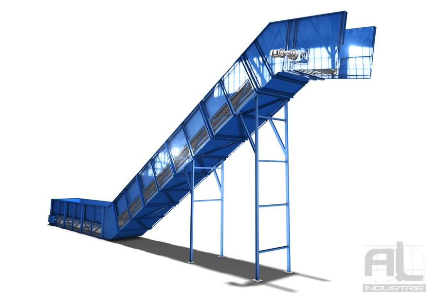 Convoyeur grande dimension - Convoyeur tapis T200 - Convoyeurs à tapis