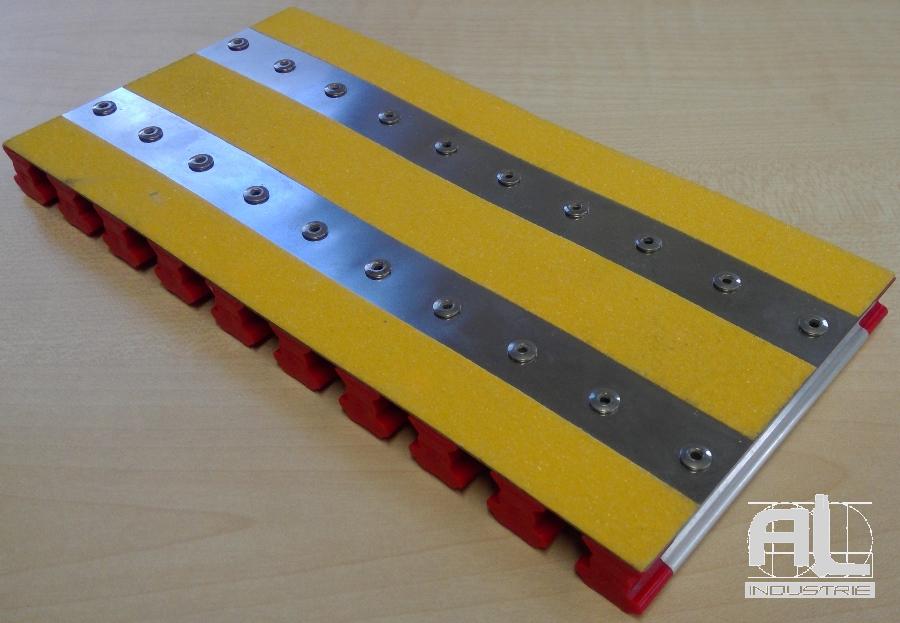 couverture fosse technique - Enrouleur protection de fosse - Protecteur enrouleur