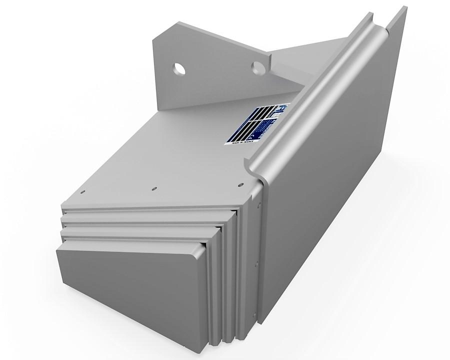 protecteur telescopique mazak dual turn 20 z droit cote porte