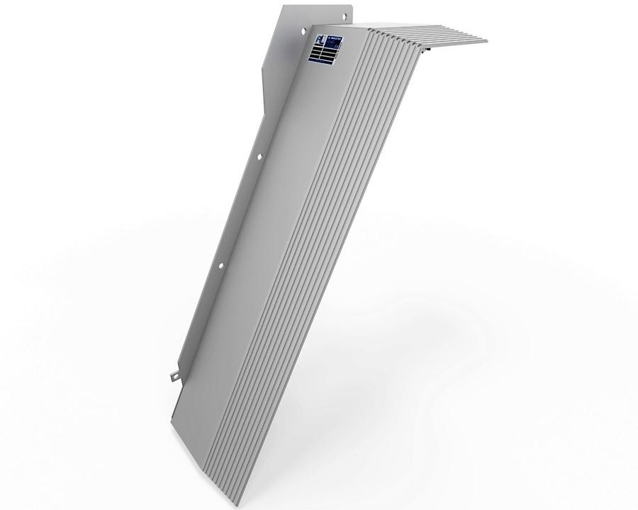 protecteur telescopique mazak e1060 z gauche cote magasin outils