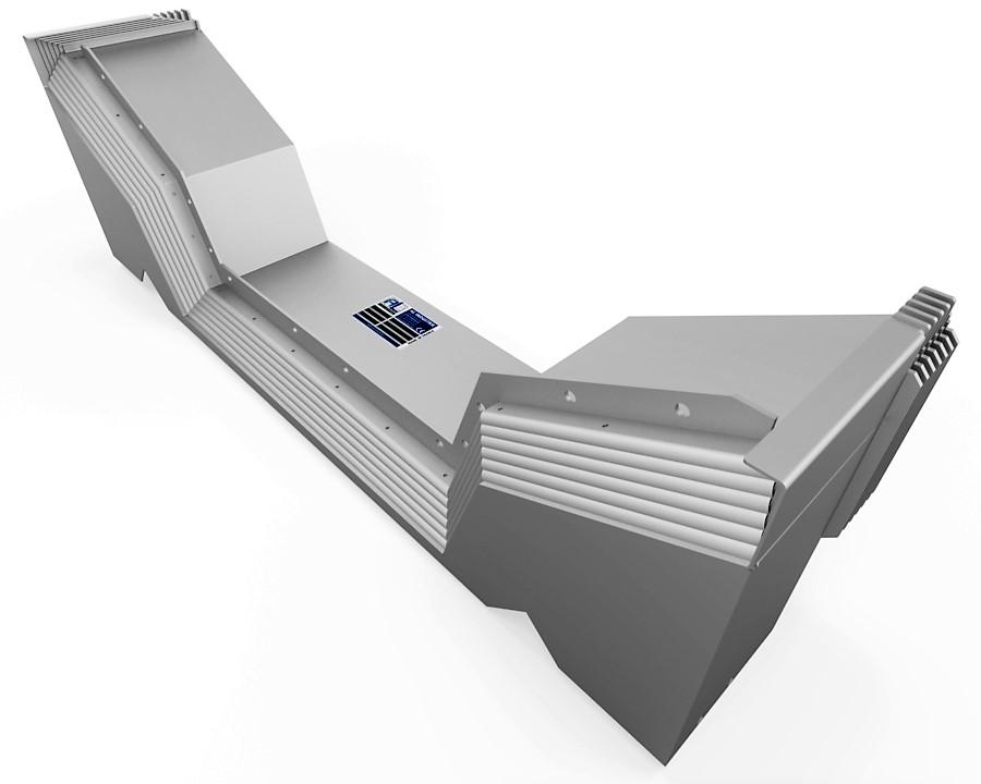 protecteur telescopique mazak fh 580 40 z avant