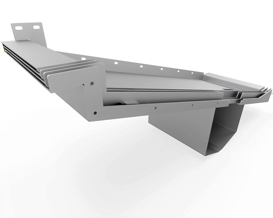 protecteur telescopique mazak h 630 n plafond boite