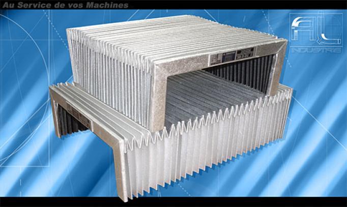 Soufflets de protection aluminium