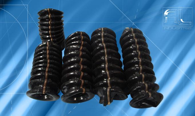 Soufflets de protection cylindriques