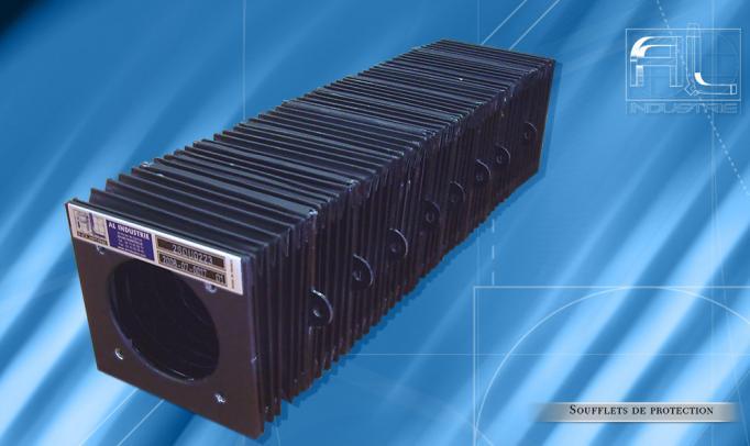 Soufflet de protection optique laser