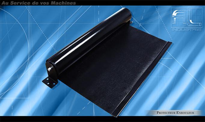 Protecteur enrouleur toile kevlar