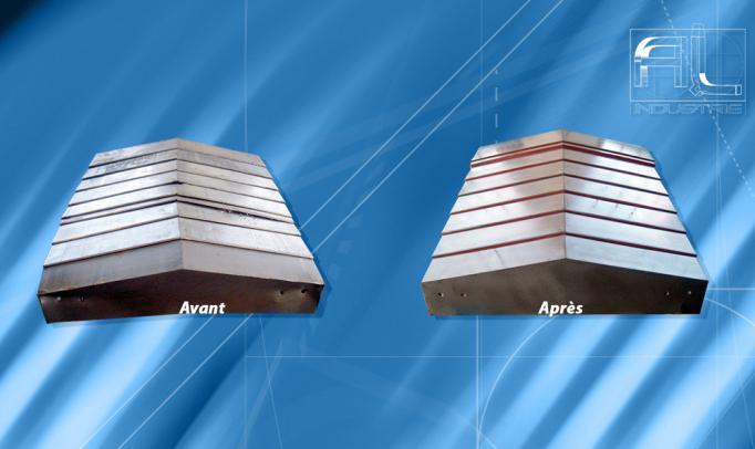 reparation carters de glissières