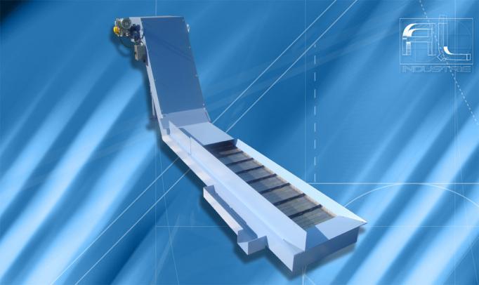 transporteur tapis metallique