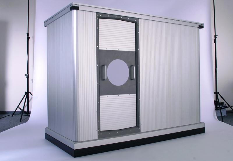 Protection double axes en aluminium