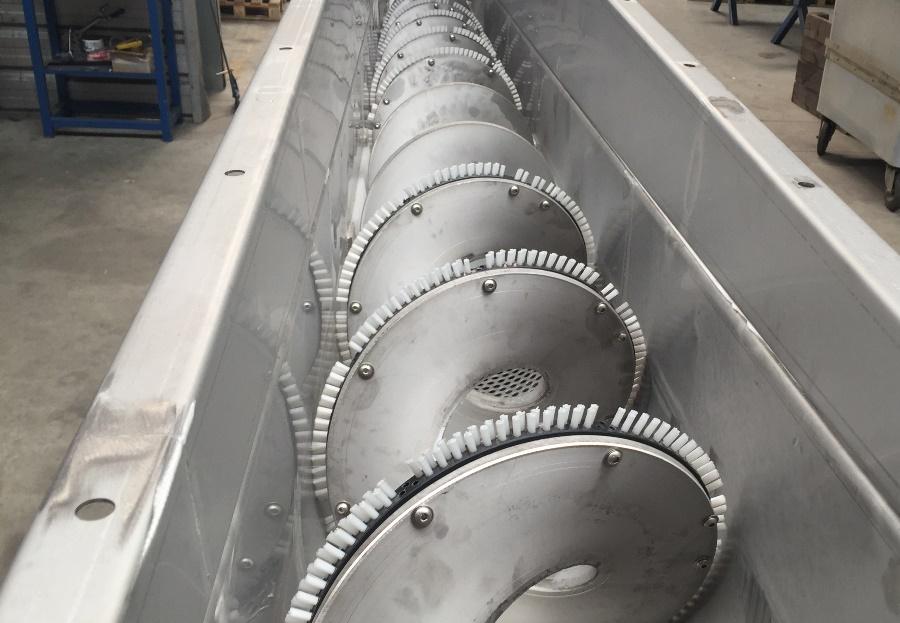 Convoyeur traitement des eaux