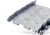 Tapis métallique convoyeur pas 63 mm - Tapis métallique convoyeur - Convoyeurs à copeaux
