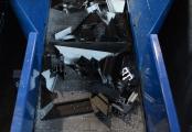 Convoyeur chutes aluminium et pvc - solution Recyclage