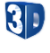 Logo 3D Wave