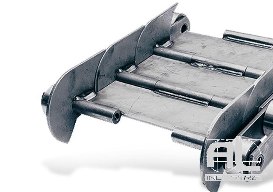 tapis-de-convoyeur-T100 - Tapis métallique convoyeur