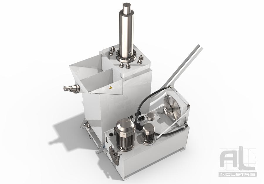 Compacteuse à copeaux PM3 4 - Briqueteuse PM3 H - Compacteuse à copeaux