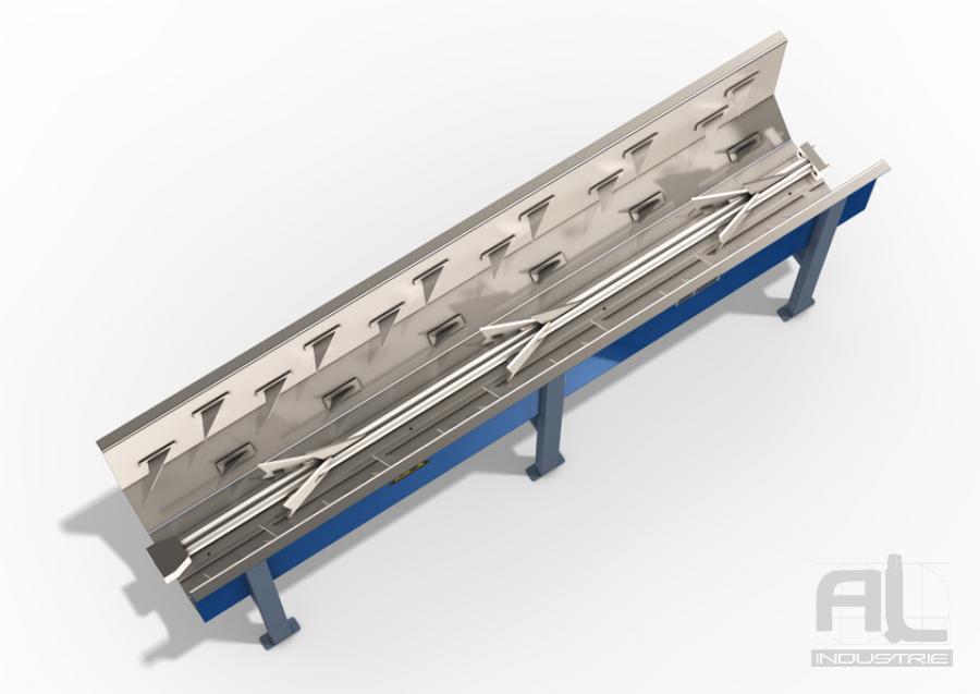 "Convoyeur harpon standard 4 - Harpon ""module standard"" - Convoyeurs à harpons"