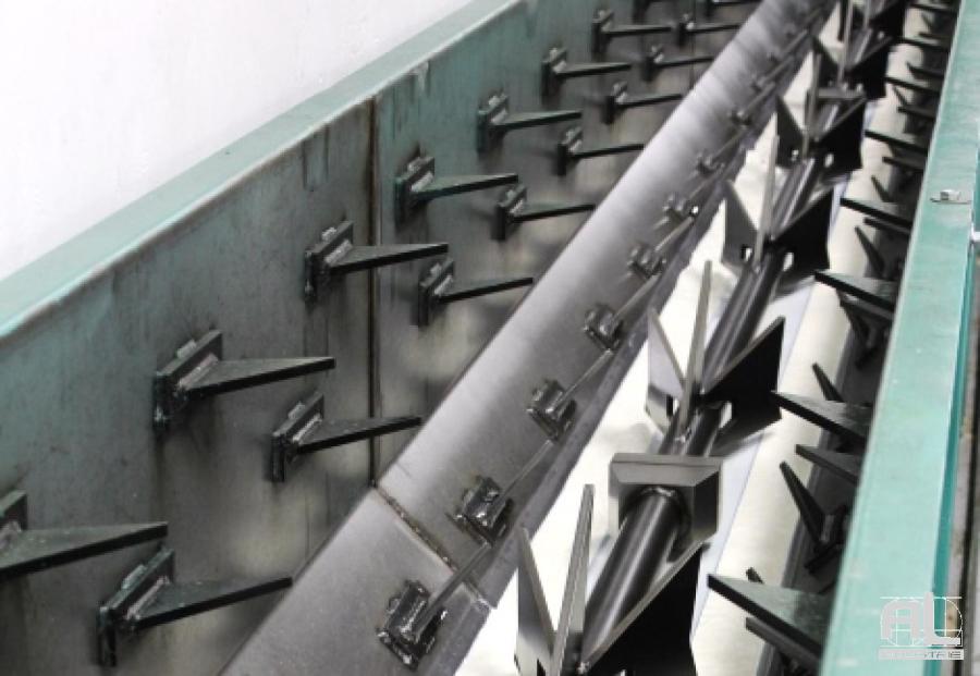Convoyeur harpon al industrie - Réseau convoyeur harpons - Mécanique