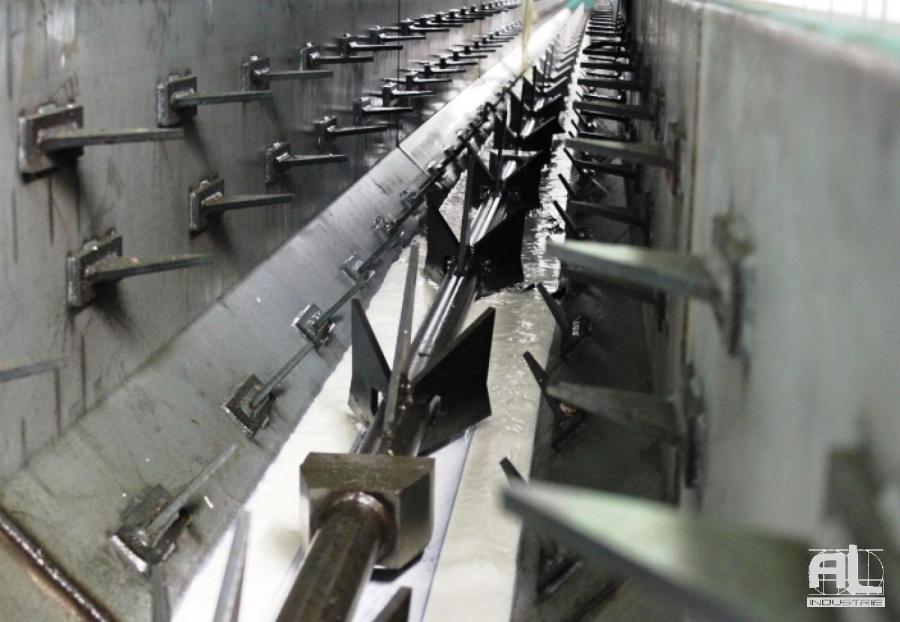 Convoyeur harpons - Réseau convoyeur harpons - Mécanique