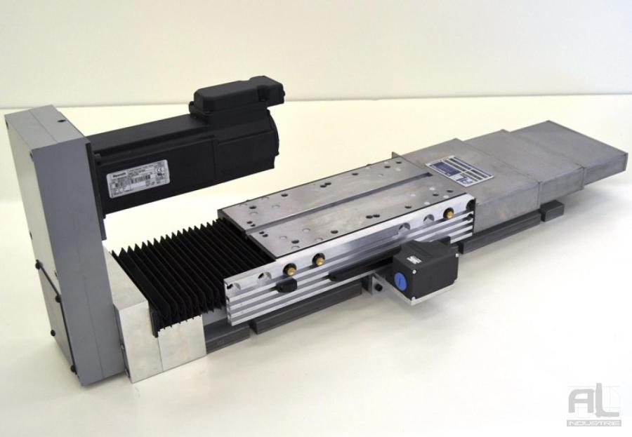 Coulissant unité de perçage - Protecteurs telescopiques - Mécanique