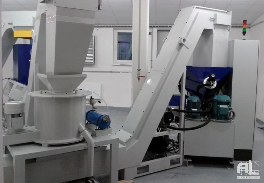 Essorage compactage AL industrie - Broyage, Essorage, Compactage - Tôlerie