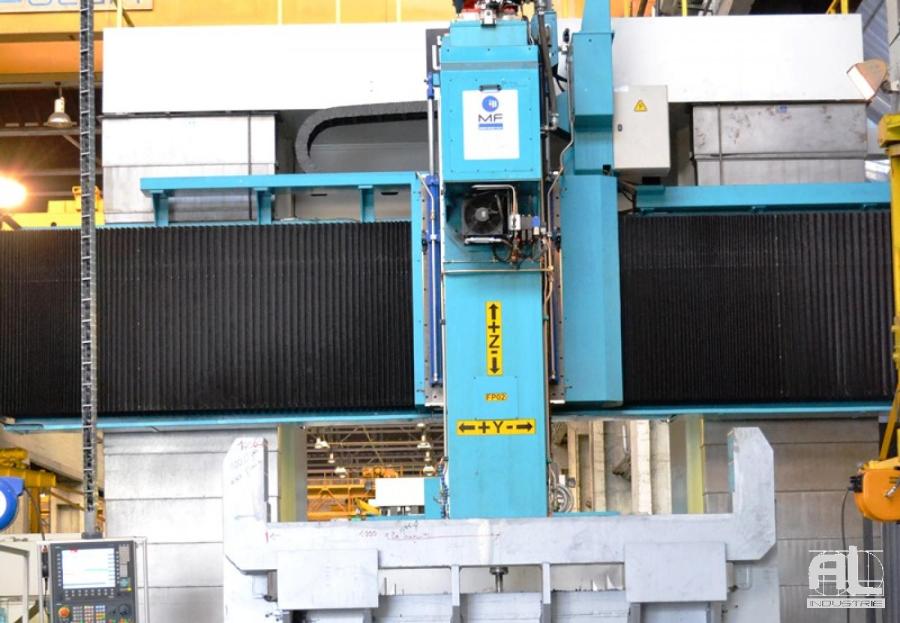 Soufflets traverses de fraiseuse - Soufflets de protection centre d'usinage - Mécanique