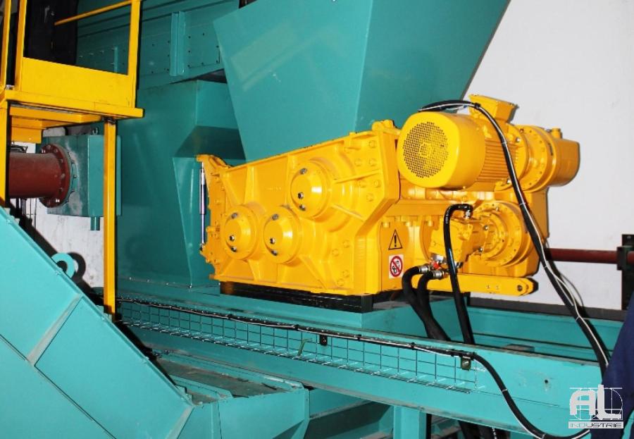 Broyeur de copeaux AL Industrie - Broyeur de copeaux série lourde - Mécanique