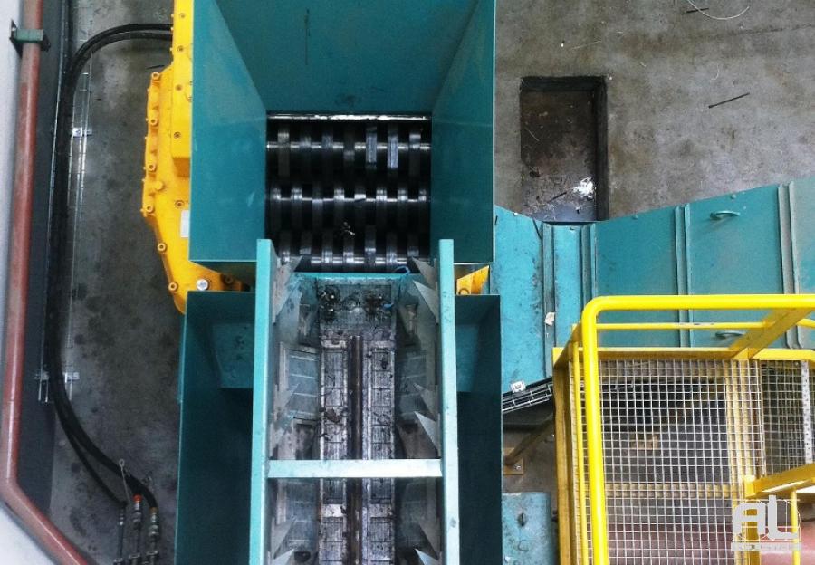Broyage de copeaux gros volume - Broyeur de copeaux série lourde - Mécanique